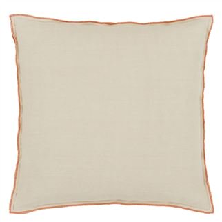 Designers Guild Brera Lino Cinnamon Decorative Pillow