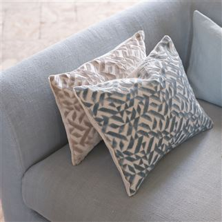 Designers Guild Dufrene Duck Egg Cushion, DG-Designers Guild, Putti Fine Furnishings