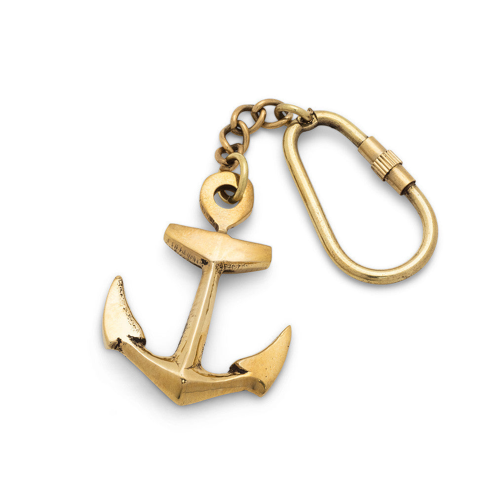 Classic Anchor Key Ring-Personal Accessories-AC-Abbott Collection-Putti Fine Furnishings