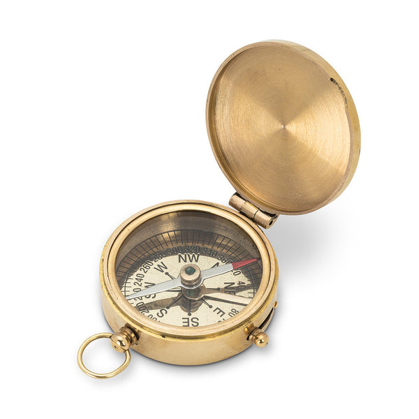 Small Hinged Compass-Personal Accessories-AC-Abbott Collection-Putti Fine Furnishings