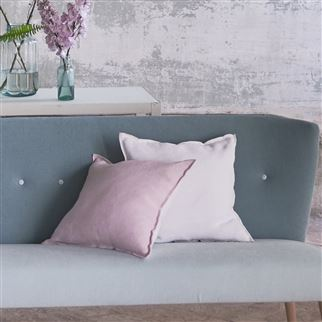 Designers Guild Brera Lino Pale Rose Decorative Pillow, DG-Designers Guild, Putti Fine Furnishings