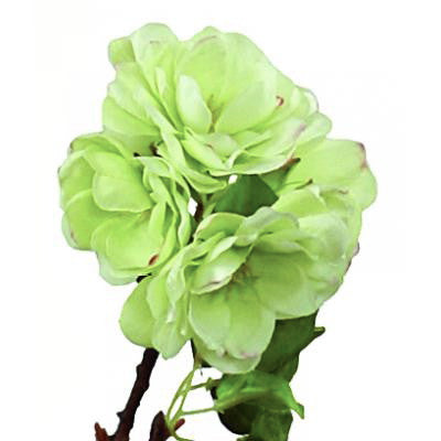Cherry Blossom Branch - Small Light Green-Artificial Flowers-Windward Canada-Putti Fine Furnishings
