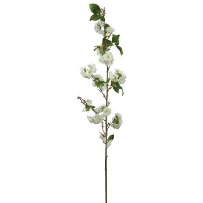 Cherry Blossom Branch - Small White -  Artificial Flowers - Windward Canada - Putti Fine Furnishings Toronto Canada - 1