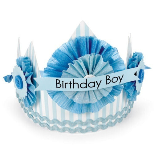 "Mud Pie ""Birthday Boy"" Crown"