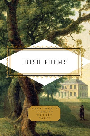 Everyman's Library - Irish Poems Book, RH-Random house, Putti Fine Furnishings