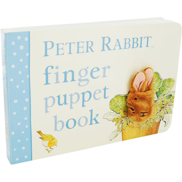Peter Rabbit Finger Puppet Book-Book-EG-Estelle Gifts-Putti Fine Furnishings
