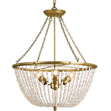 Currey & Company Rose Quartz Ceiling Fixture