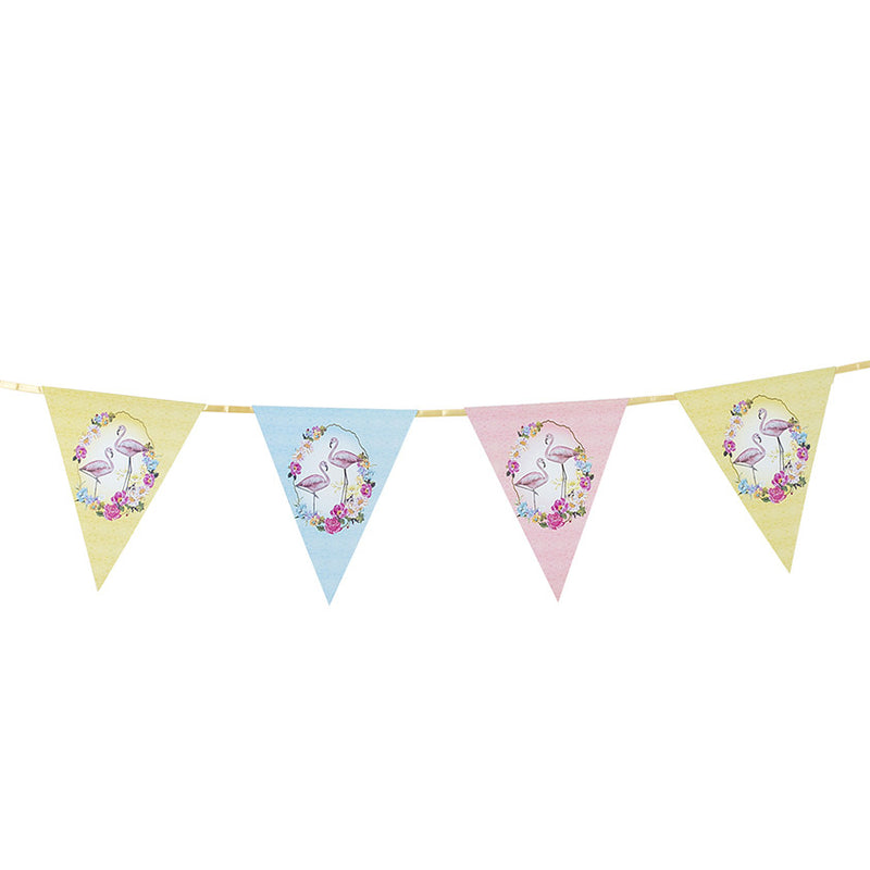 """Truly Flamingo"" Bunting, TT-Talking Tables, Putti Fine Furnishings"