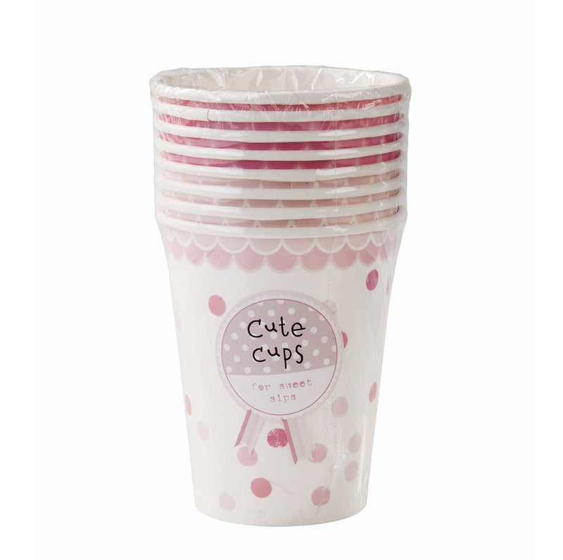 Pink N Mix Paper Cups, TT-Talking Tables, Putti Fine Furnishings