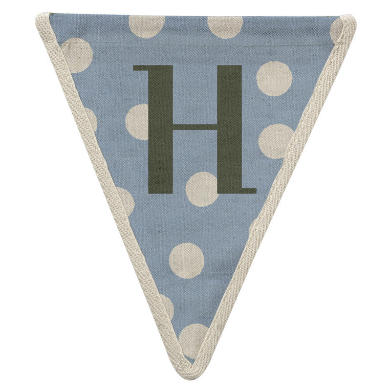 Meri Meri Alphabet Bunting - Letter H, MM-Meri Meri UK, Putti Fine Furnishings