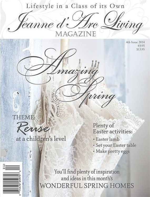 Jeanne d'Arc Living Magazine April 2014 4th edition-Book-Jeanne d'Arc Living-Putti Fine Furnishings