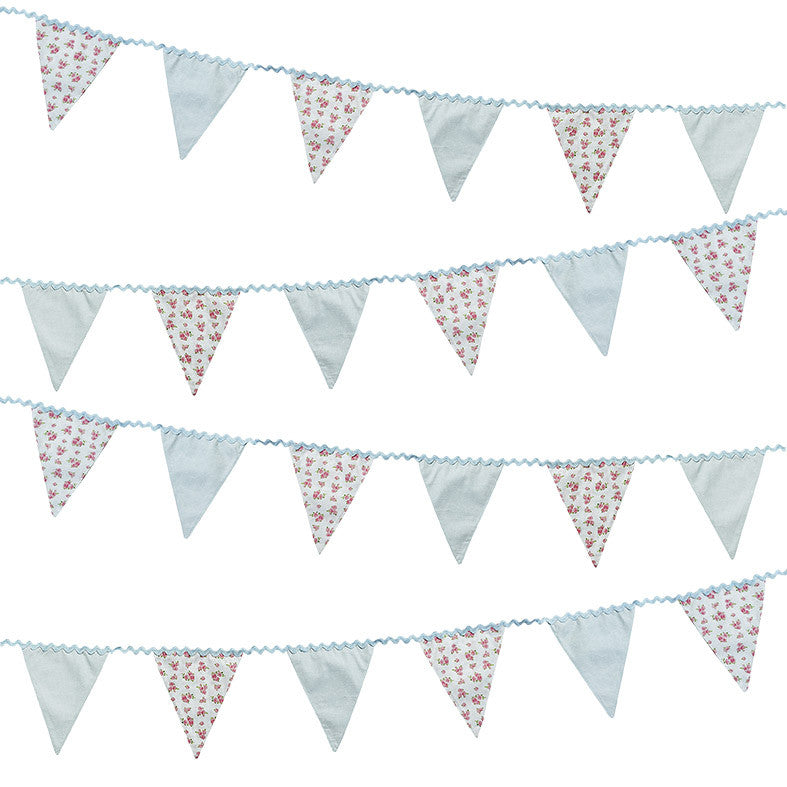 Truly Scrumptious Floral Fabric Bunting