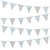 Truly Scrumptious Floral Fabric Bunting -  Party Supplies - Talking Tables - Putti Fine Furnishings Toronto Canada - 1