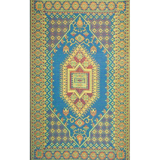Mad Mats Outdoor Carpet Turkish-Outdoor Carpets-MMAT-Mad Mats-6' x 9'-Aqua-Putti Fine Furnishings