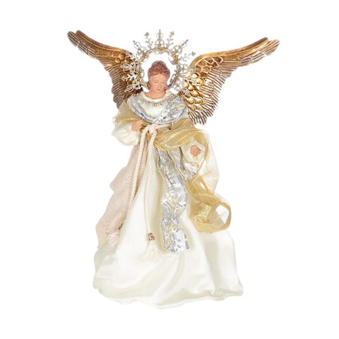 Angel with Gilded Wings, CT-Christmas Tradition, Putti Fine Furnishings