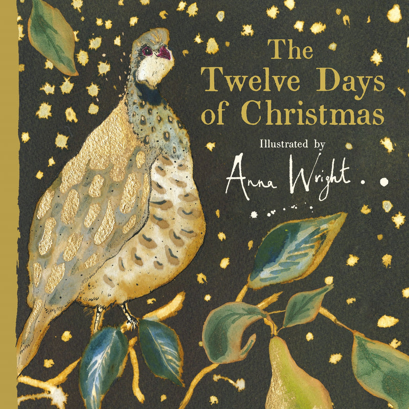 The Twelve Days of Christmas Book - Anne Wright - Putti Fine Furnishings