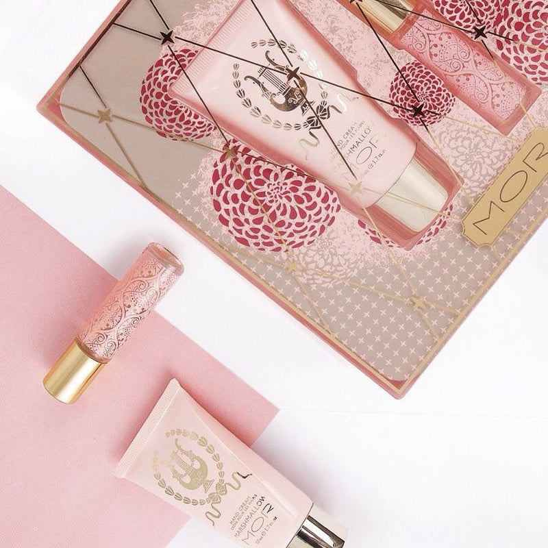 "Mor ""Marshmallow Petites"" - Perfume and Hand Cream Gift Set -  Personal Fragrance - Putti Fine Furnishings - Putti Fine Furnishings Toronto Canada - 1"