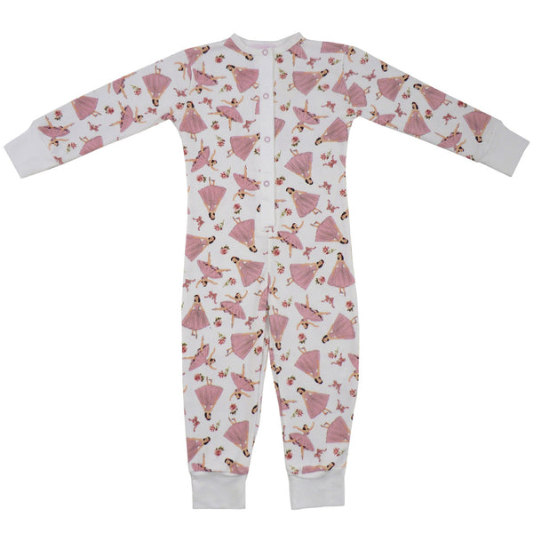 Ballerina Onesie-Nightwear-PC-Powell Craft Uk-Age 2 to 3-Putti Fine Furnishings