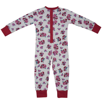 Red Rose Floral Onesie, PC-Powell Craft Uk, Putti Fine Furnishings