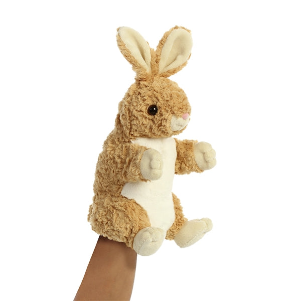 """Betsy"" Bunny Hand Puppet, NF-Nearly Famous, Putti Fine Furnishings"