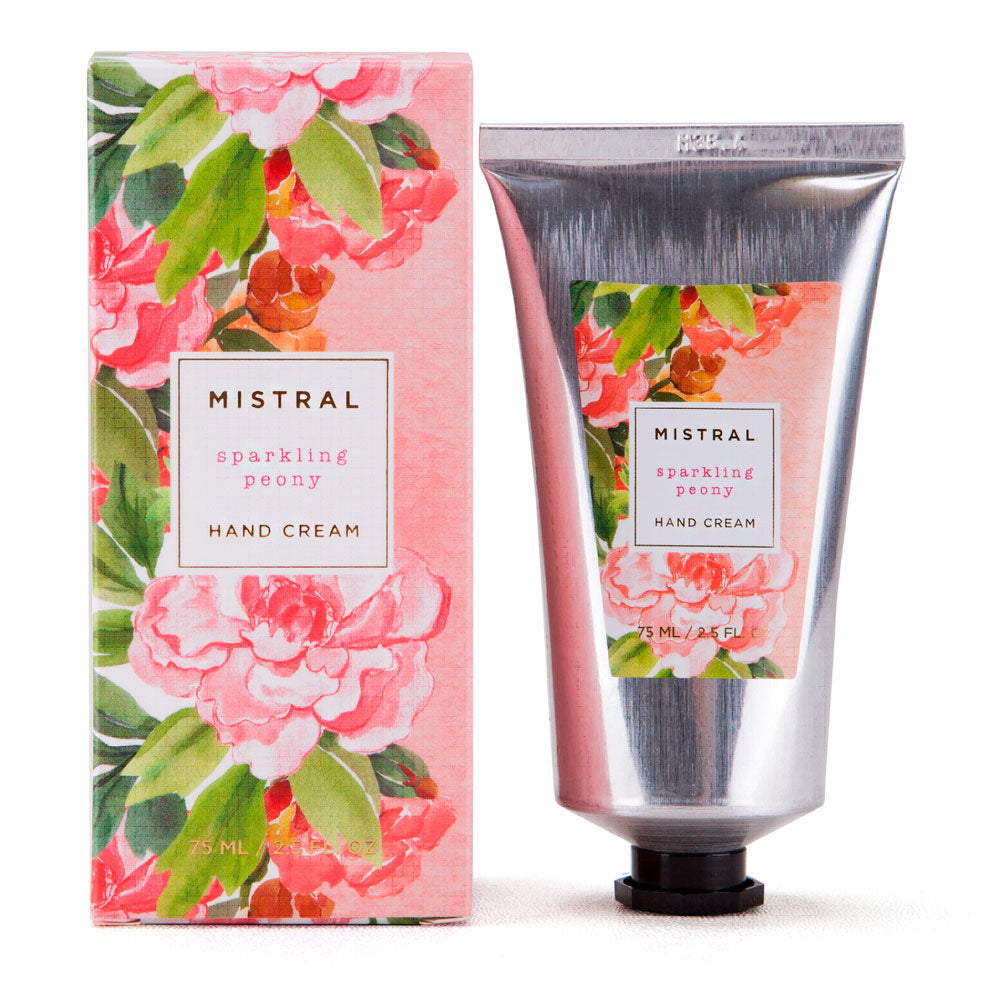 Mistral Floral Collection Hand Cream - Sparkling Peony