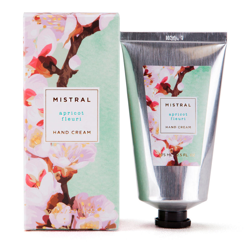 Mistral Floral Collection Hand Cream - Apricot Fleuri
