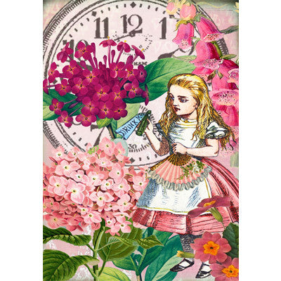 Alice In Wonderland - Drink Me - Card