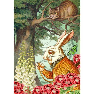 Alice In Wonderland - The Cheshire Cat - Card, EG-Estelle Gifts, Putti Fine Furnishings