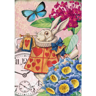 Alice In Wonderland - The March Hare - Card, EG-Estelle Gifts, Putti Fine Furnishings