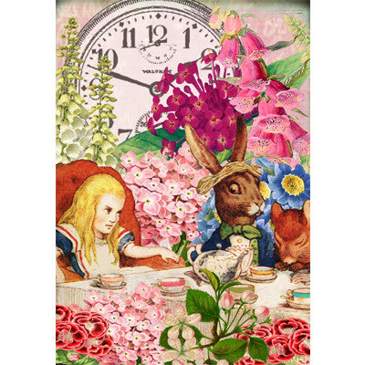 Tea with Alice - Card