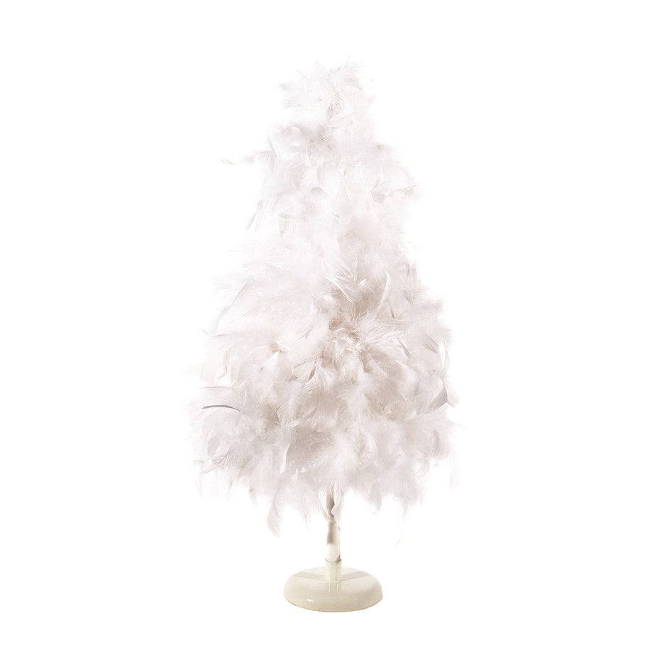 Small White Feather Tree