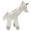 Albetta Crochet Unicorn Soft Toy -  Children's - AUK-Albetta UK - Putti Fine Furnishings Toronto Canada - 1