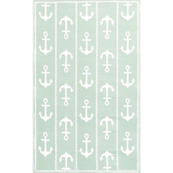 Mad Mats Outdoor Carpet Anchor-Outdoor Carpets-MMAT-Mad Mats-6' x 9'-Aqua-Putti Fine Furnishings