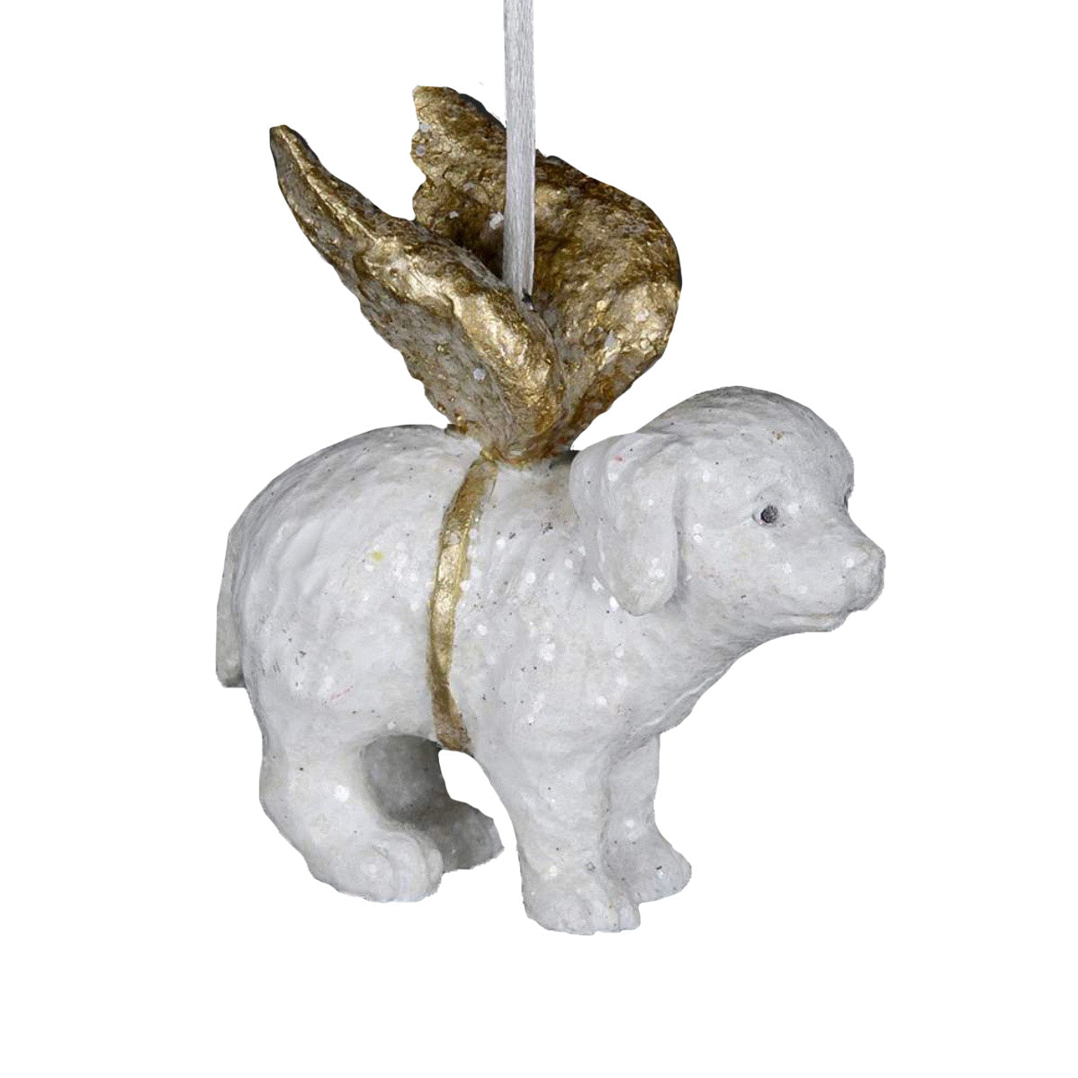 Beloved Pet Dog Angel Ornament