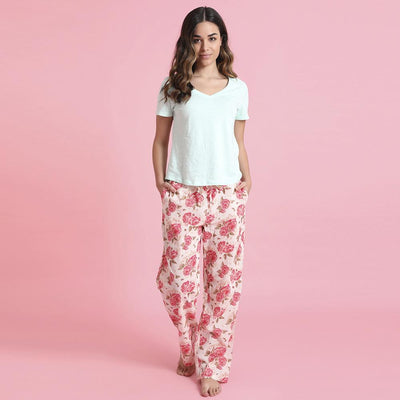 "Mahogany ""Ashley Blush""  Pyjama Pant in Bag"
