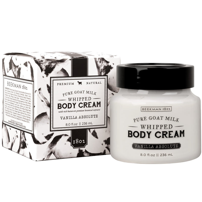 Beekman 1802 - Fresh Cream Vanilla Absolute Whipped Body Cream, BK-Beekman 1802, Putti Fine Furnishings