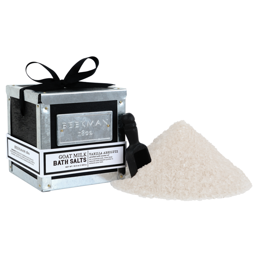 Beekman 1802 - Fresh Cream Vanilla Absolute Bath Salts, BK-Beekman 1802, Putti Fine Furnishings