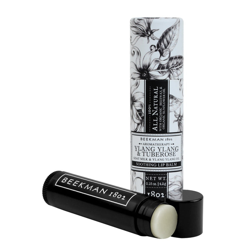 Beekman 1802 - Ylang Ylang & Tuberose  - Nourishing Lip Balm Stick, BK-Beekman 1802, Putti Fine Furnishings
