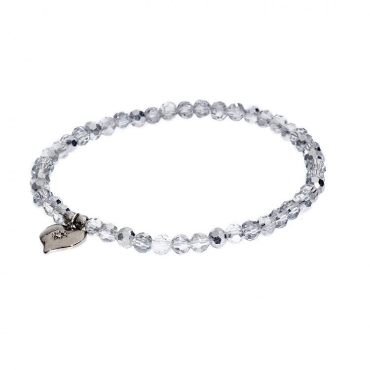 Lovett & Co. Tiny Sparkle Bead Bracelet - Silver, L&C-Lovett & Co., Putti Fine Furnishings