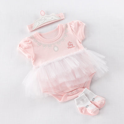 "Baby Aspen ""Baby Princes"" Tutu Set, BA-Baby Aspen, Putti Fine Furnishings"