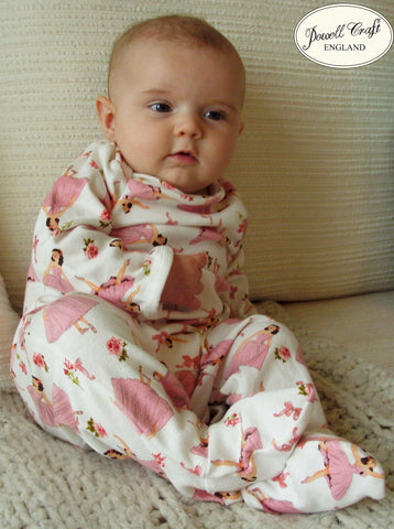 Ballerina Jumpsuit-Children's Clothing-PC-Powell Craft Uk-0 to 6 month (Special order - 2 weeks)-Putti Fine Furnishings
