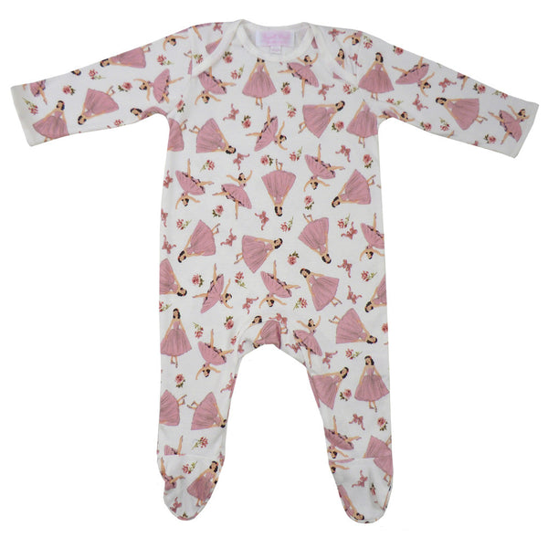 Ballerina Jumpsuit - 0 to 6 month (Special order - 2 weeks) Children's Clothing - Powell Craft Uk - Putti Fine Furnishings Toronto Canada - 1