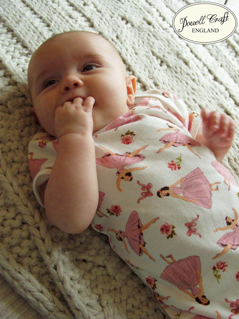 Ballerina Baby Grow, PC-Powell Craft Uk, Putti Fine Furnishings