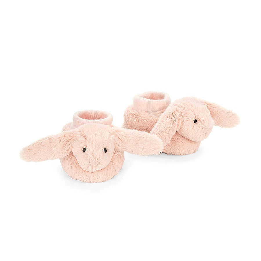 Jellycat Bunny Booties - Bashful Blush