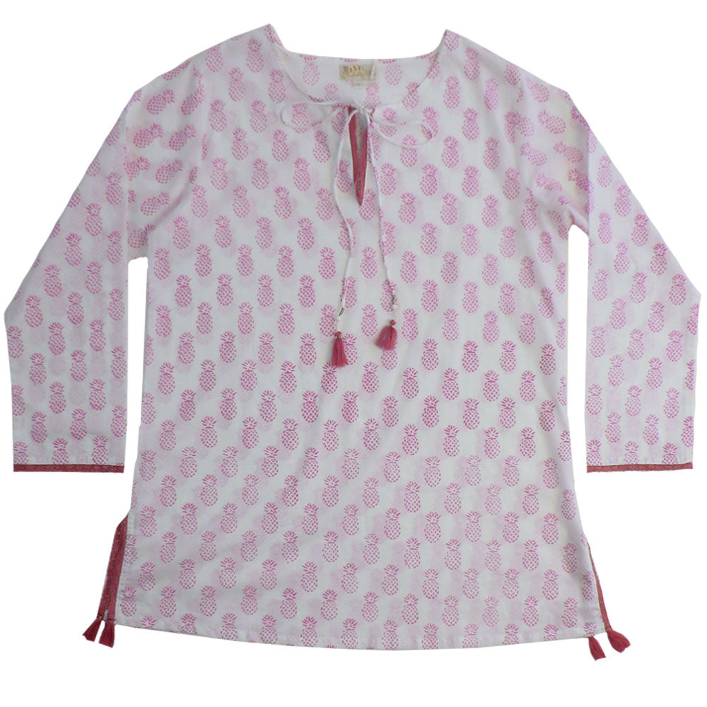 Pink Pineapple Kaftan, PC-Powell Craft Uk, Putti Fine Furnishings