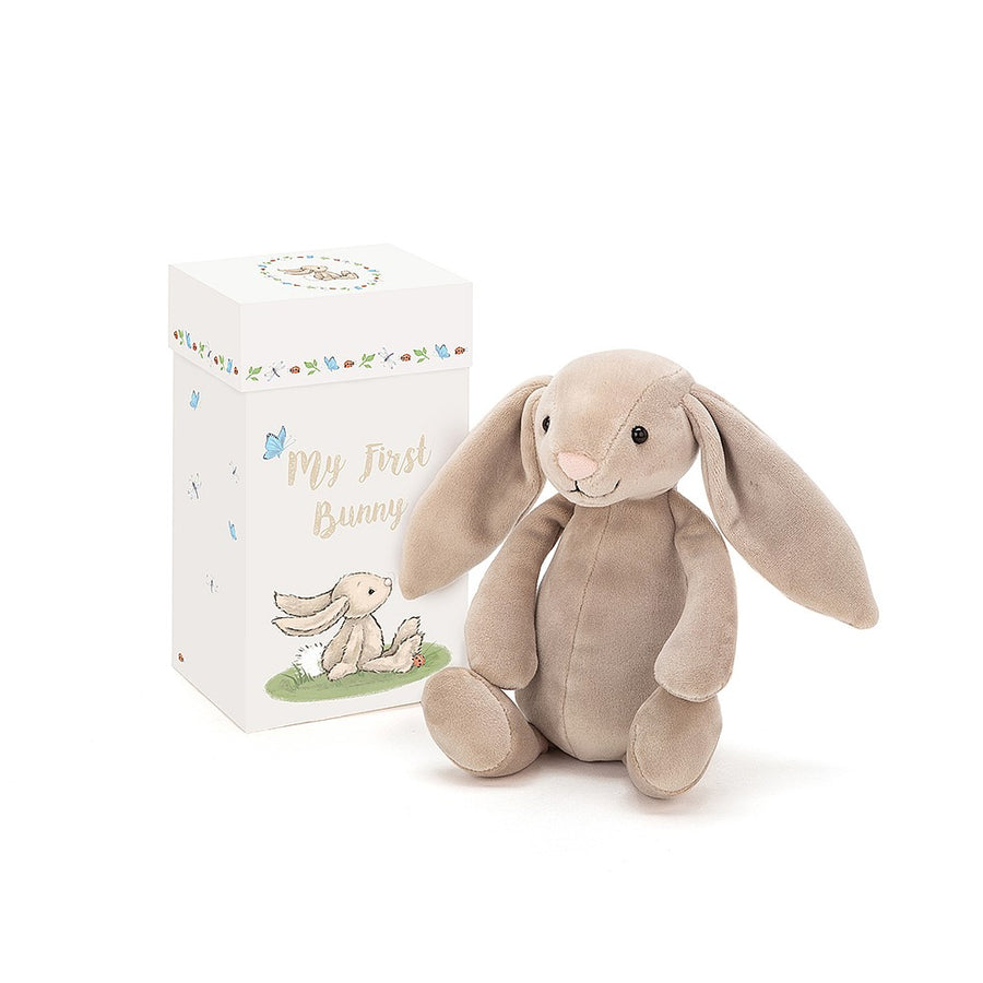 "Jellycat ""My First Bunny"" Soft Toy in Gift Box"