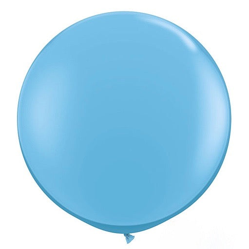 "Giant Round Balloon 36""- Robin's Egg Blue, SE-Surprize Enterprize, Putti Fine Furnishings"