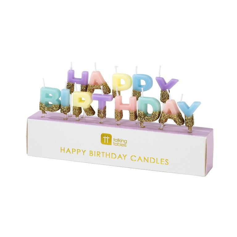 "We Heart Birthdays ""Happy Birthday"" Candles 