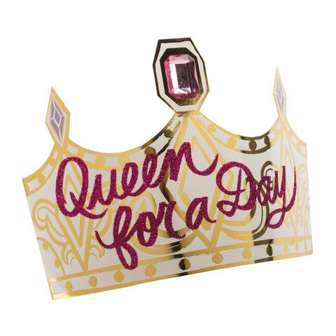Queen For a Day Paper Crowns