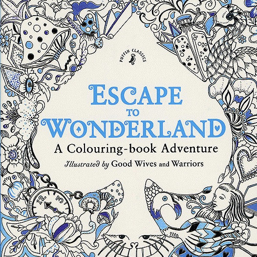 Escape to Wonderland: Coloring Book For Adults, RH-Random house, Putti Fine Furnishings